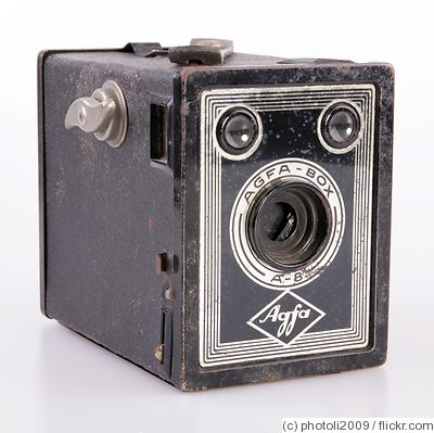 AGFA ANSCO: Agfa Box A-8 camera