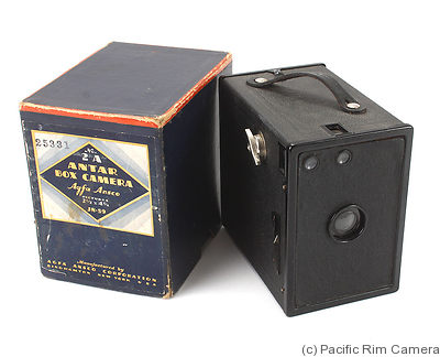 AGFA ANSCO: Antar Box 2A camera