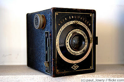 AGFA ANSCO: Shur-Flash camera