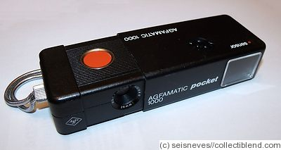 AGFA: Agfamatic 1000 Pocket camera
