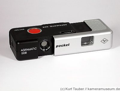 AGFA: Agfamatic 508 Pocket camera