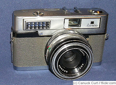 Ansco: Anscoset II camera