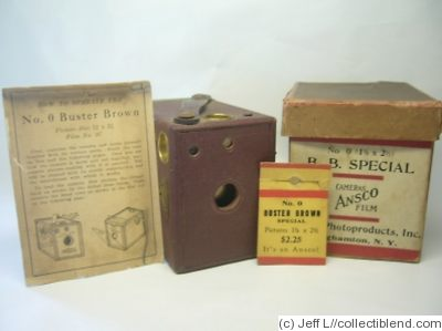 Ansco: Buster Brown special No.0 camera