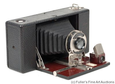 Ansco: Folding Ansco No.9 Model B camera