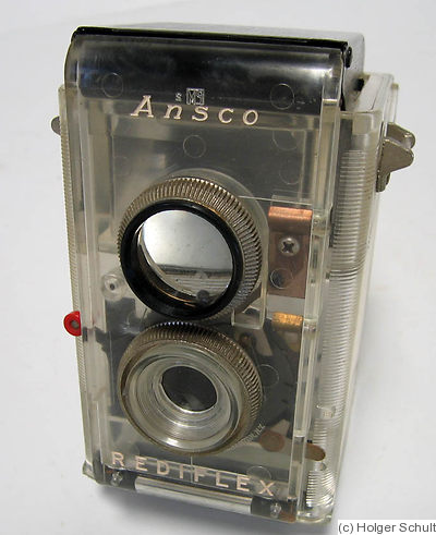 Ansco: Rediflex (transparent) camera