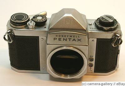 Asahi: Honeywell Pentax H3V (chrome) camera