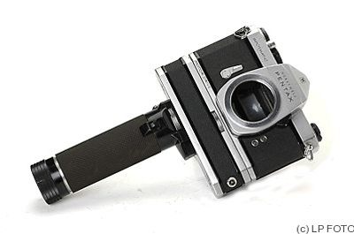 Asahi: Honeywell Pentax Spotmatic (SP) Motor Drive (with motor) camera