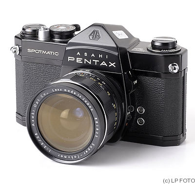 Asahi: Pentax Spotmatic (SP) (black) camera