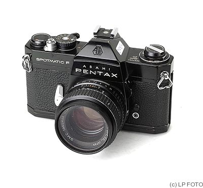 Asahi: Pentax Spotmatic F (SP-F) (black) camera