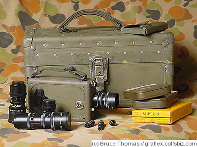 Bell & Howell: Filmo Autoload (US Marine Corps) camera