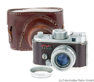 Berning Robot: Robot Star (brown leather) camera