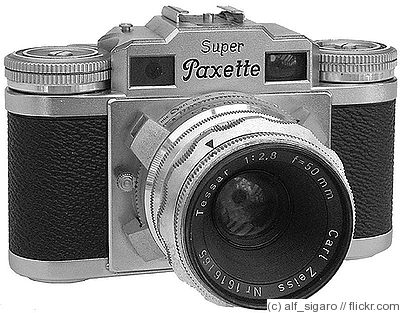 Braun Carl: Super Paxette II camera