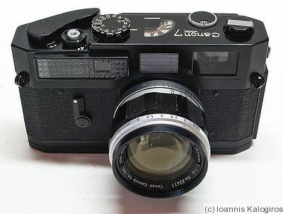 Canon Canon 7 Black Price Guide Estimate A Camera Value