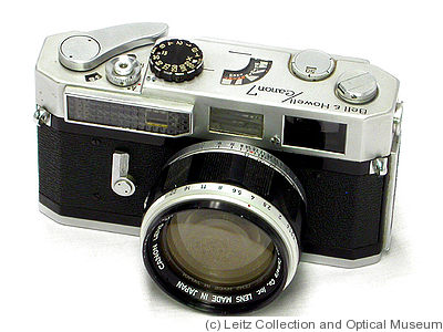 Canon: Canon 7 Bell & Howell camera