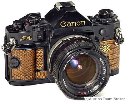 Canon: Canon A-1 'Japan Camera Show' Price Guide: estimate ...
