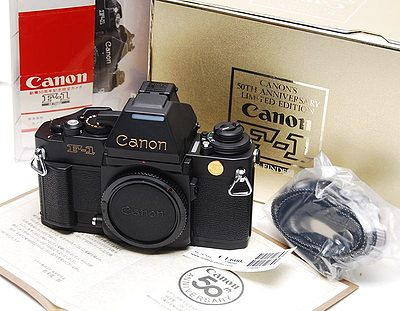 Canon: Canon F-1 50th camera