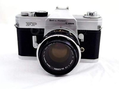 Canon: Canon FP Bell & Howell camera