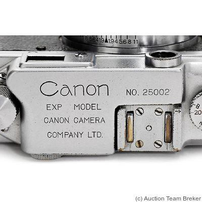 Canon: Canon IIB (Exp Model) camera