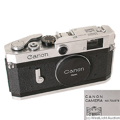 Canon: Canon P 'Eagle' camera