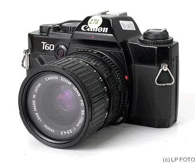 Canon Canon T60 Price Guide Estimate A Camera Value