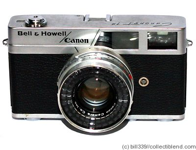 Canon: Canonet 19 Bell & Howell camera