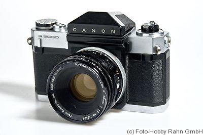 Canon: Canonflex R 2000 Price Guide: estimate a camera value