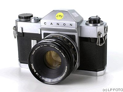Canon: Canonflex RP chrome camera