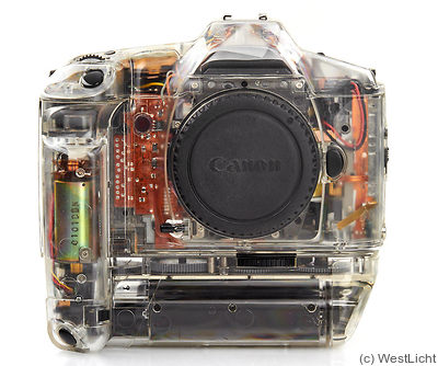 Canon: EOS 1 N (transparent) camera