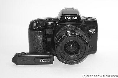 Canon eos-10s af slr camera index page.