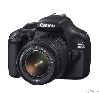 Canon: EOS 1100D (EOS Rebel T3 / EOS Kiss X50) camera