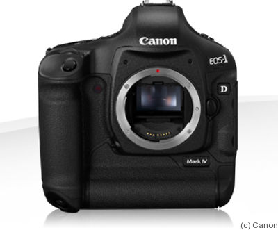Canon: EOS-1D Mark IV camera