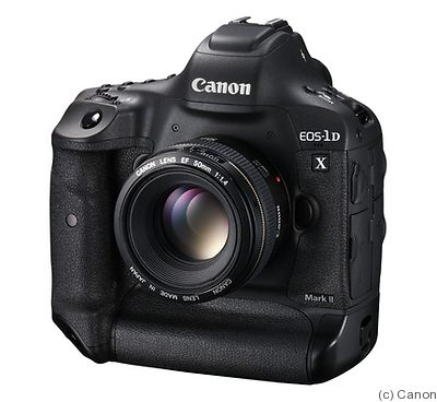 Canon: EOS-1D X Mark II camera