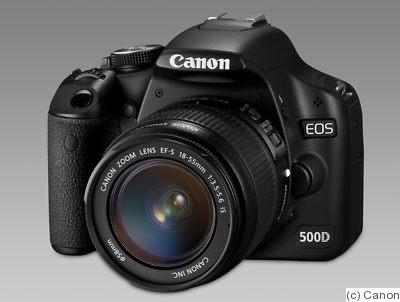 Canon: EOS 500D (EOS Rebel T1i / EOS Kiss X3) camera