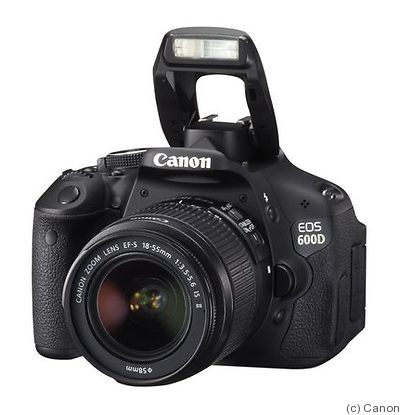 Canon: EOS 600D (EOS Rebel T3i / EOS Kiss X5) camera
