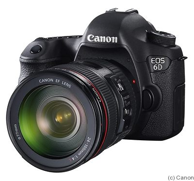 Canon: EOS 6D camera