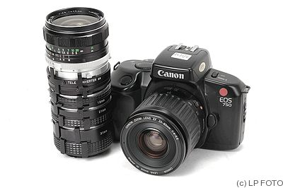 Canon: EOS 750 camera