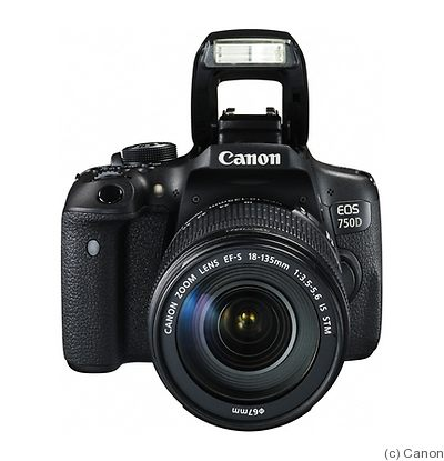 Canon: EOS 750D (EOS Rebel T6i / Kiss X8i) camera