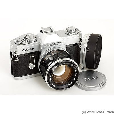Canon: Pellix (chrome) camera