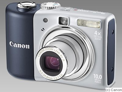 Canon: PowerShot A1000 IS camera