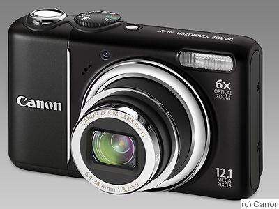 Canon: PowerShot A2100 IS camera