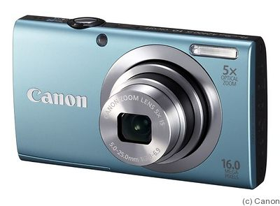 Canon: PowerShot A2400 IS camera