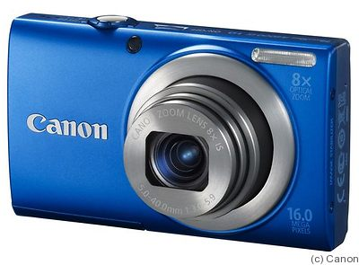 Canon: PowerShot A4000 IS camera