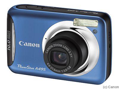 canon powershot a495 price guide estimate a camera value rh collectiblend com Review Canon PowerShot A495 Blue Canon PowerShot