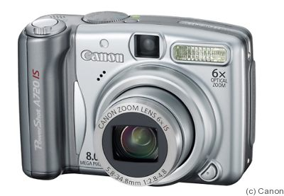 Canon: PowerShot A720 IS camera