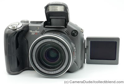 Canon: PowerShot S3 IS camera