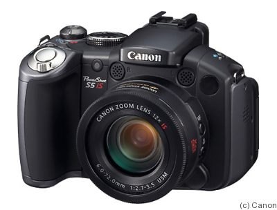 Canon: PowerShot S5 IS camera