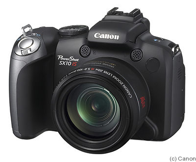 Canon: PowerShot SX10 IS camera