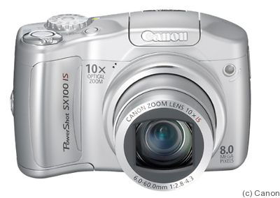 Canon: PowerShot SX100 IS camera
