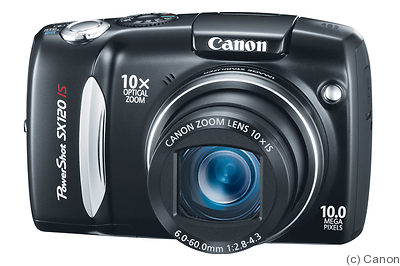 Canon: PowerShot SX120 IS camera