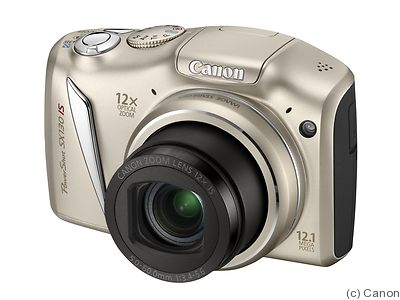 Canon: PowerShot SX130 IS camera